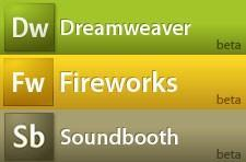 Adobe releases Dreamweaver, Fireworks and Soundbooth betas