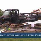 COVID-19 pandemic limits how NWS crews survey storm damage
