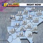 NC weather: Record-setting cold temperatures move into North Carolina
