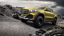 X-Class concept previews Mercedes' first pickup truck, coming in 2017