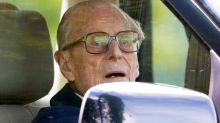 Why was Prince Philip, 97, driving?