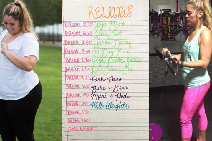Super motivated bride documented her weight loss journey ...
