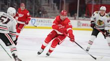 Jakub Vrana's four goals take center stage as Detroit Red Wings beat Dallas Stars, 7-3
