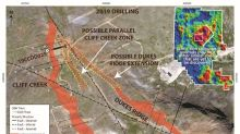 Benchmark Discovers New Zone at Cliff Creek and Drills 18.24 g/t AuEq over 3.23 Metres