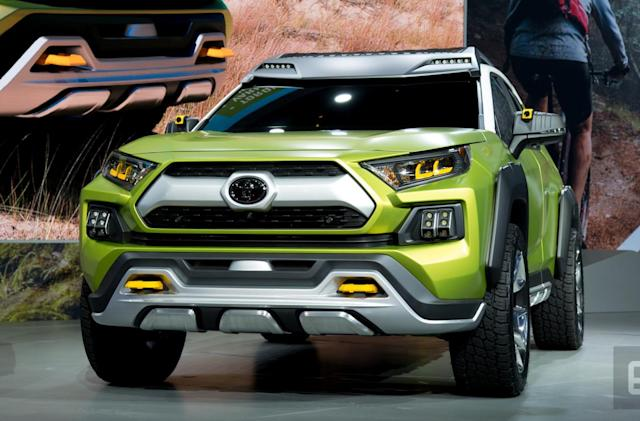 Toyota's FT-AC concept is an Instagram-ready offroader