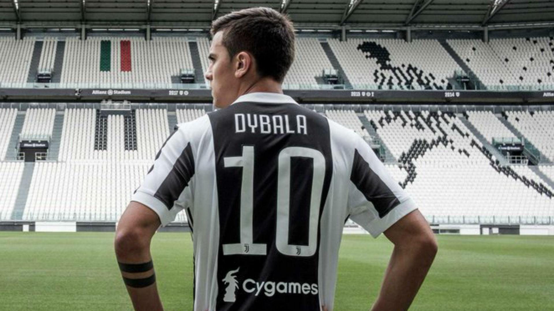 online retailer f4b96 6bdcc Dybala: Juventus number 10 shirt a childhood dream
