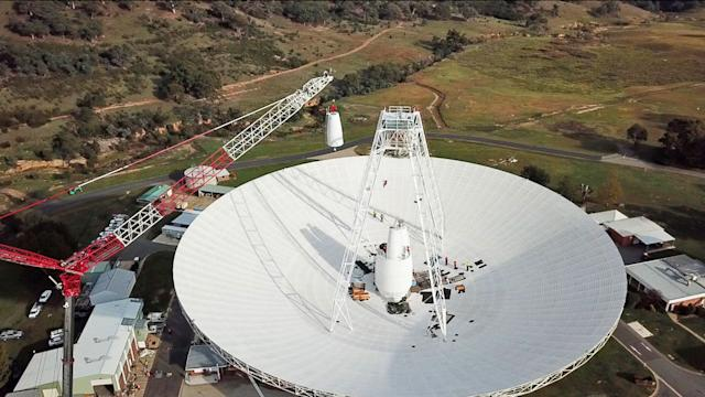 NASA upgrades Australia's Deep Space Station for future missions to Mars