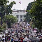 George Floyd protests: Hundreds of thousands take to America's streets to call for racial justice