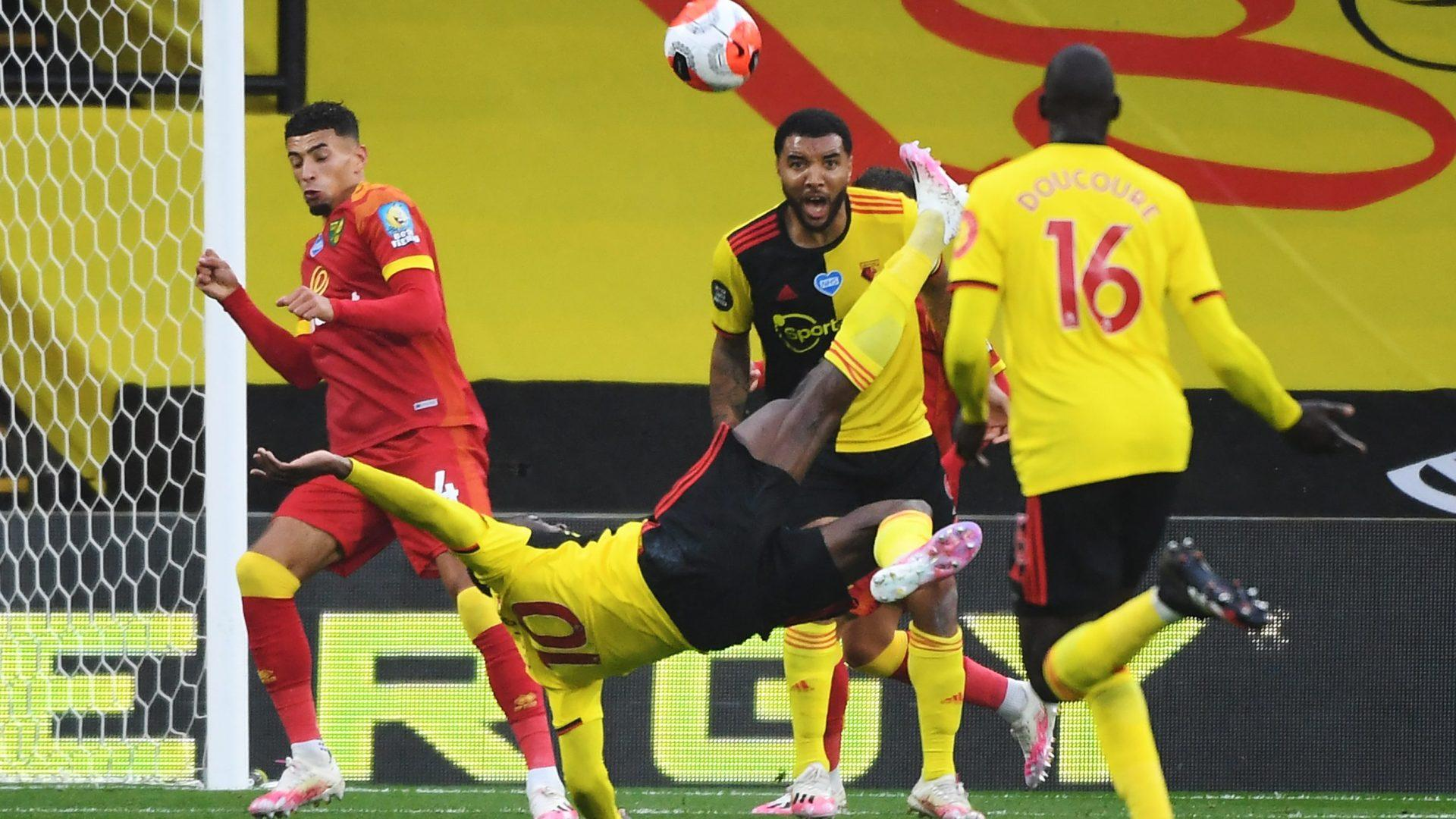 Welbeck's Goal of Year candidate sends Watford past Norwich City