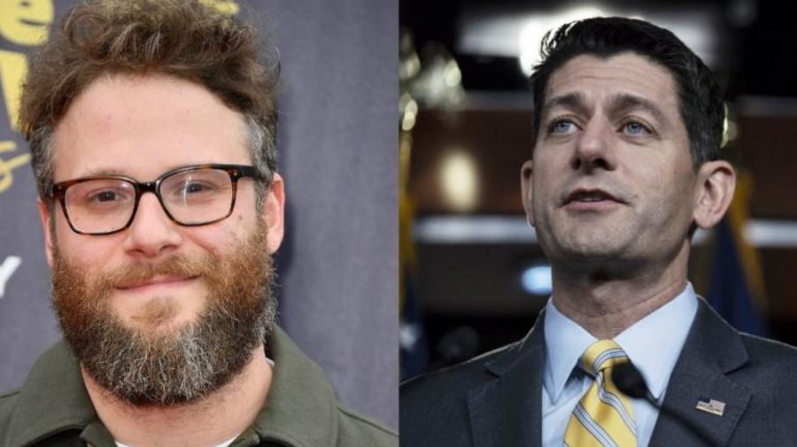 Seth Rogen describes the moment he turned down Paul Ryan's request for a photo