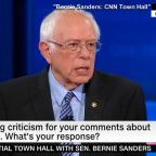Bernie Sanders defends Cuba comments
