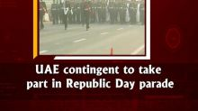 UAE contingent to take part in Republic Day parade