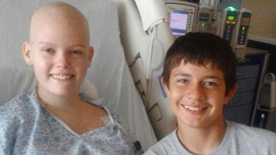 2 Fla. Teens Unite in Cancer Fight