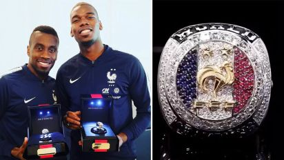 Pogba gifts NBA-style rings to WC winning teammates