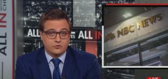 MSNBC's Chris Hayes criticizes NBC News