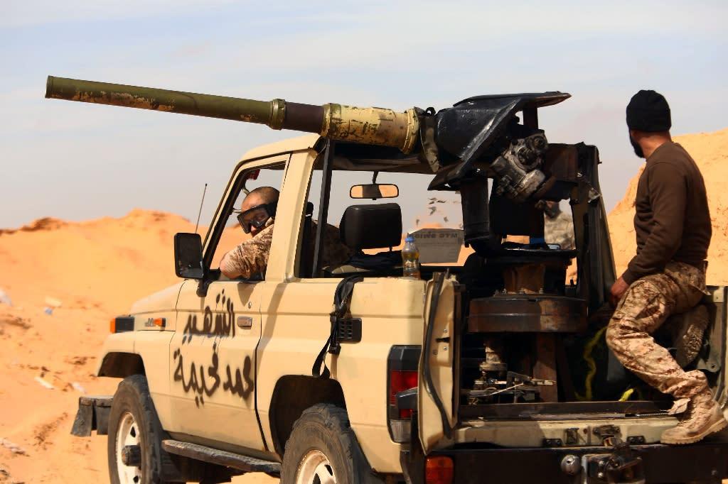 Libya has split into a myriad of groups and militias since Gaddafi's overthrow in 2011 (AFP Photo/Mahmud Turkia)