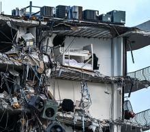 Home surveillance footage shows moment debris falls before Florida condo collapses