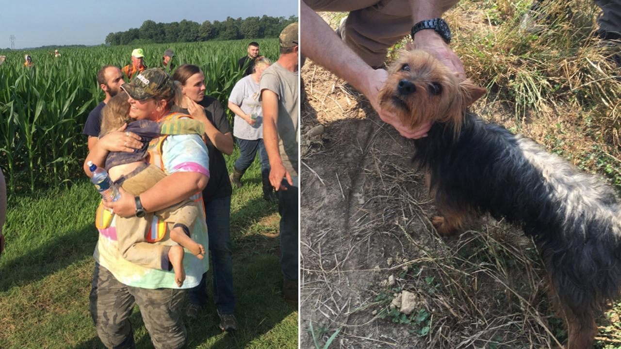 Family Dog Stayed With Missing 3-Year-Old During the 12 Hours She Was Gone