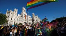 Hundreds of thousands march for LGBT rights in Madrid
