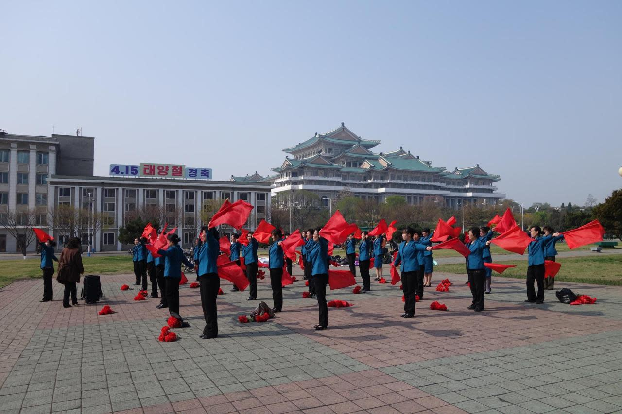 <p><i>Jacob and his group spent seven days in the secretive state of North Korea.</i></p>