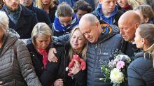 London Bridge terror attack: Victim's girlfriend breaks down in tears at vigil