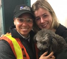 This dog's heartwarming rescue from a New York subway tunnel will bring you happy tears