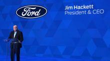 Ford CEO Jim Hackett earned $17.1 million in 2018 as profit fell