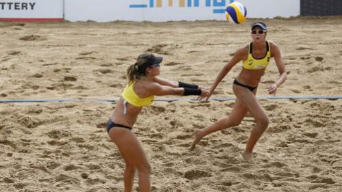 Brasil terá oito duplas na etapa de Haia do Circuito de vôlei de praia