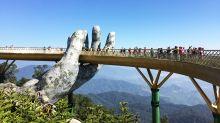 Vietnam's Golden Bridge is as amazing in real life as it looks