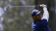 A hot start for Woods in Boston, just not on the golf course