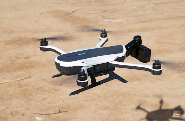 GoPro's fix for grounded Karma drones is coming 'within a week'