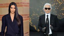 Karl Lagerfeld brachte Kim Kardashian zum Weinen