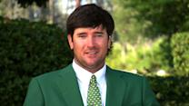 Bubba Watson talks about winning his second green jacket at Masters
