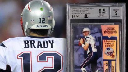 Cartão colecionável de Tom Brady é vendido por valor recorde de R$ 13 milhões