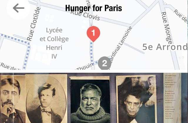 TravelbyArt lets you discover the Paris of famous artists