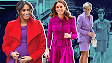 The universally flattering shade both Kate and Meghan wore this week