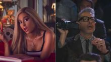 Ariana Grande Is Naturally Obsessed With Jeff Goldblum's 'Thank U, Next' Spoof