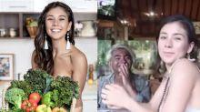 Fãs se revoltam com influencer vegana que foi flagrada comendo peixe