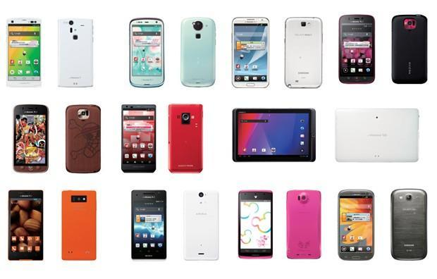 NTT DoCoMo unveils winter lineup, pushes big displays, LTE, quad-cores and NFC payments