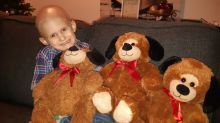 Boy, 4, gets hard-to-find teddy bears he needs just in time for cancer surgery