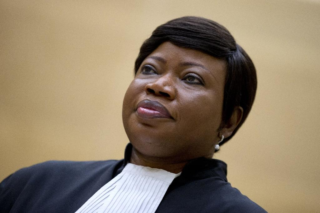 """Bensouda said her office would """"analyse the decision and its implications"""" (AFP Photo/PETER DEJONG)"""