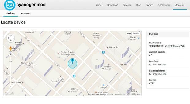 CyanogenMod details Device Finder, promises a secure way to track lost phones