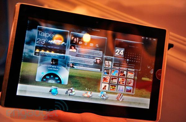 ASUS Eee Pad EP101TC and EP121 preview