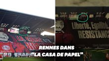 """""""La Casa de Papel"""" reprend... un tifo du Stade rennais"""