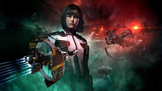 'EVE Online' art for Mac native release