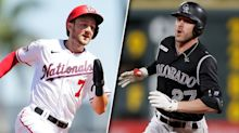 Shortstops square off — who would you take in your fantasy baseball draft: Trevor Story or Trea Turner?