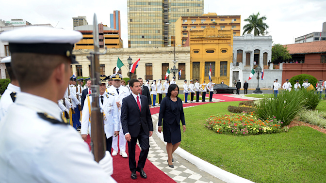 ¿Confundió la bandera de México con la de Italia?