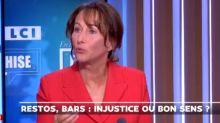 Ségolène Royal fait ses premiers pas de débatteuse sur LCI