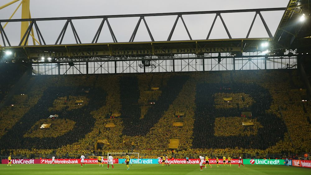 Dortmund-Monaco : découvrez le vrai son du Mur Jaune