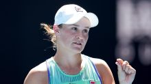 Top seed Barty eases through on Doha debut